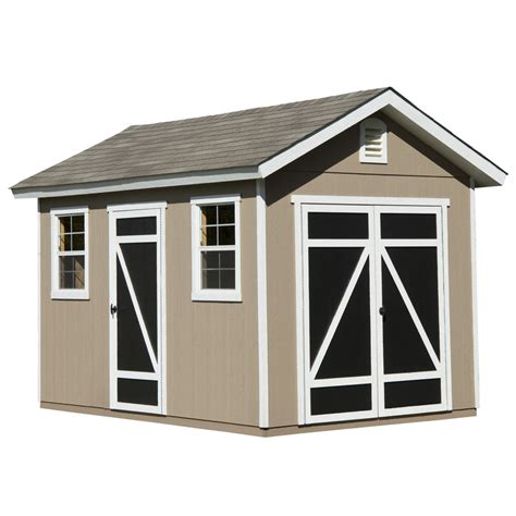 heartland storage shed shop heartland common 8 ft x 12 ft interior dimensions