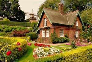 Amazing, English, Cottage, Wallpaper, On, Home, Garden, Hd ...