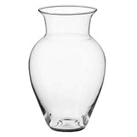 Large Glass Vase by Vase Large Clear Glass Flower Vase Height 38