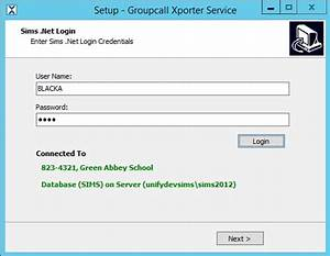 Groupcall Xporter for RM Unify MIS Sync integration