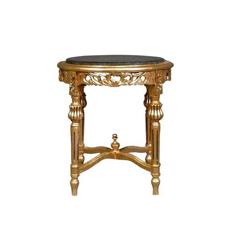 Sellette Petit Meuble by Sellette Petite Table Baroque Ronde En Bois Dor 233