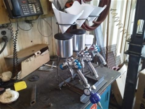 homemade paint gun rack homemadetoolsnet