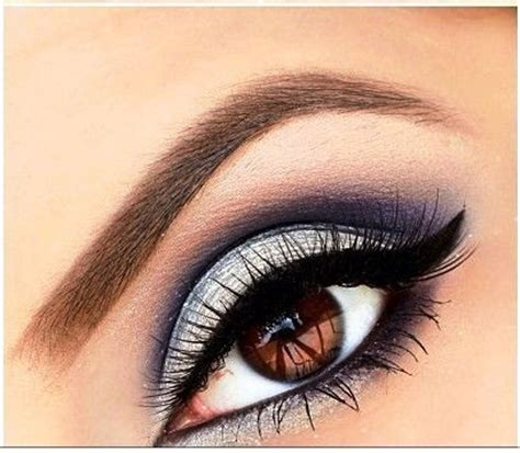 blue  silver eyeshadow tutorial amazingmakeupscom