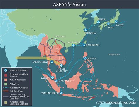 competing visions reconnecting asia