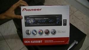 Radio Pioneer Deh-x6550bt  Deh-x6580bt Mixtrax