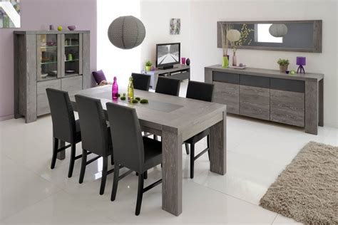 salle a manger grise meubles de salle 224 manger style contemporain moyenne gamme en bois meuble et d 233 coration