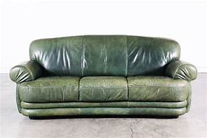 vintage green leather sofa vintage supply store With green leather sofa