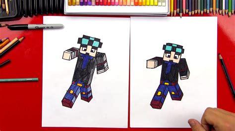 draw    diamond minecart art  kids hub