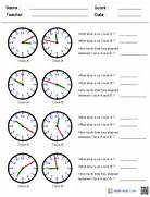 612 X 792 14 KB Png Telling Time Worksheets 3rd Grade Time Math Worksheets For Telling Time With Subtracting And Adding 2 Printable Clock Worksheets Telling The Time To 1 Min 3 Telling Time Worksheets