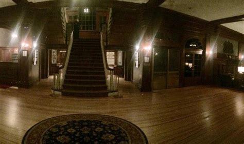 newscom man visiting stanley hotel captures eerie image