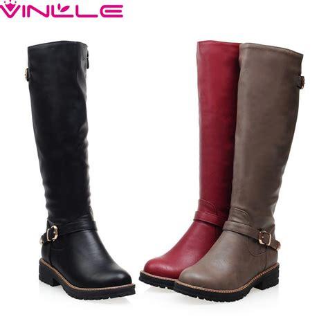 vinlle  women boots winter shoes  toe fashion