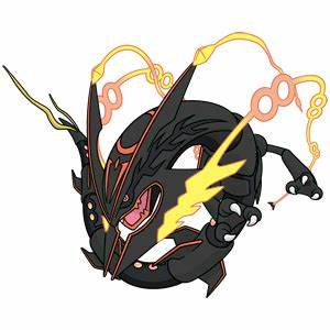 Shiny Mega Rayquaza Global Link Art by TrainerParshen on ...