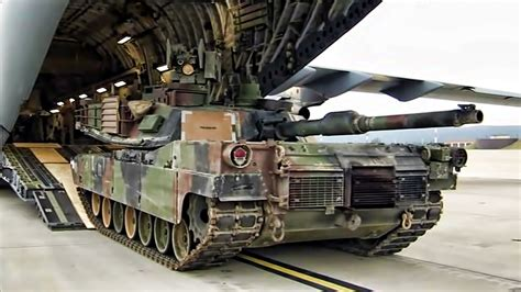Abrams Tank Top Speed by Flying A Tank C 17 Globemaster M1a2 Abrams
