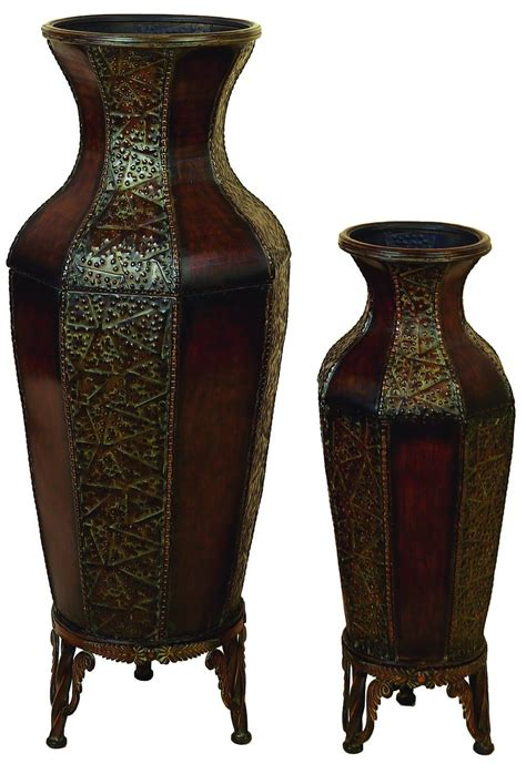 Glass Floor Vases by Furniture Vase Decoration Ideas Black Floor Vases