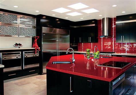meuble de cuisine noir meubles noir pour une cuisine deco maison moderne