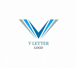 V letter alphabet inspiration vector logo design download ...