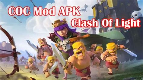 clash of lights com clash of light coc apk unlimited money mod apk download