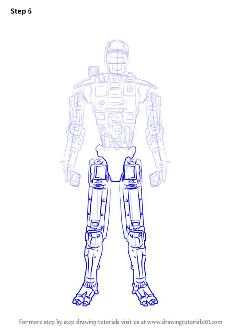 learn   draw chappie  robot  chappie chappie step  step drawing tutorials