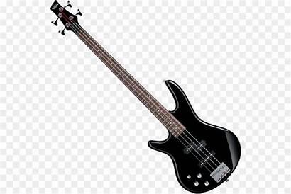 Guitar Bass Transparent Clipart Clip Electric Library