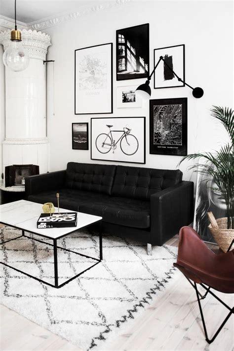 3536 black white grey living room decoraci 243 n de interiores con blanco y negro