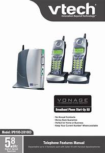 Vonage Ip8100 281003 Ip 5825 User Manual To The 00a42e5a