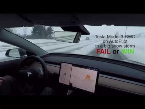 33+ How Does The Tesla 3 Handle In Snow Pics