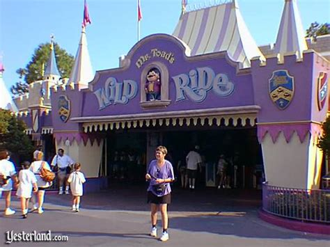 The Original Mr. Toad's Wild Ride at Yesterland