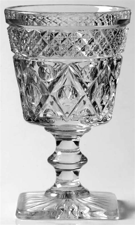 Cape Cod Clear (1602 + 160) Wine Glass With Wafer Stem By