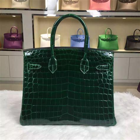 hand stitching hermes birkincm ck emerald green hcp