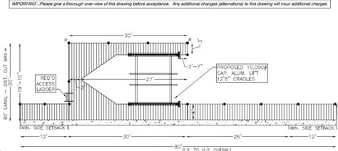 Boat Dock Plans And Designs by Boat Dock Lift Designs