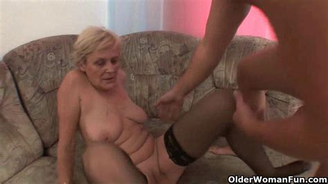 Sex Starved Grannies Need Their Daily Cumshot Granny Porn