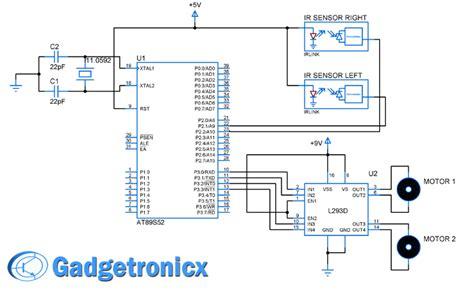 Line Follower Robot Lfr Using Microcontroller