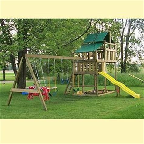 wood swingset plans  woodworking
