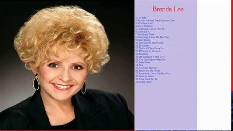 brenda lee youtube the best songs of brenda lee brenda lee mp3 youtube