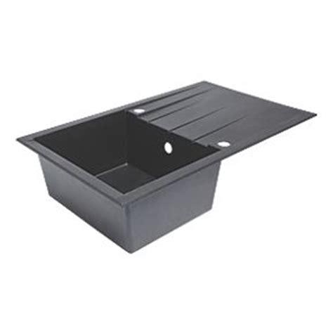 resin sinks kitchens plastic resin kitchen sink drainer black 1 bowl 1893