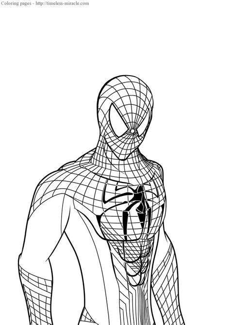 The Amazing Spider Coloring Pages Amazing Spider The Amazing Spider 2 Electro Coloring Pages Coloring Pages