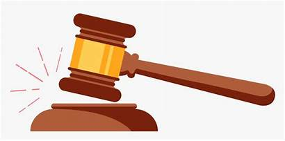 Hammer Gavel Judge Clip Clipart Vector Transparent
