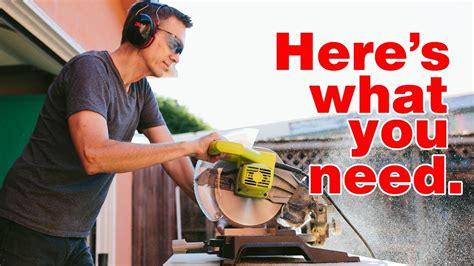 essential power tools  beginning woodworkers