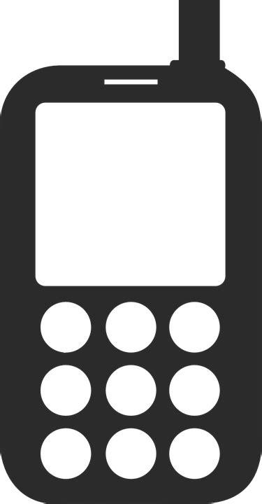 Kostenlose Vektorgrafik Telefon, Symbol, Handy, Logo