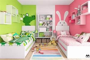 Dětský pokoj pro dvě děti inspirace