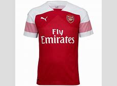 Arsenal 201819 Puma Home Kit 1819 Kits Football