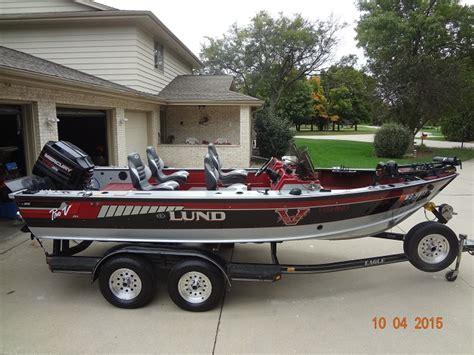 Lund Pro Ride Boat Seats For Sale by Garrett Manderfield S Lund Boat For Sale On Walleyes Inc