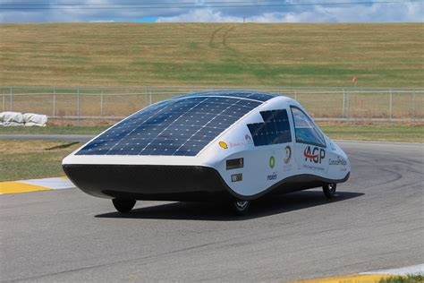 Solar Car by The Mechanical A Racing Car Unlike Any Other The