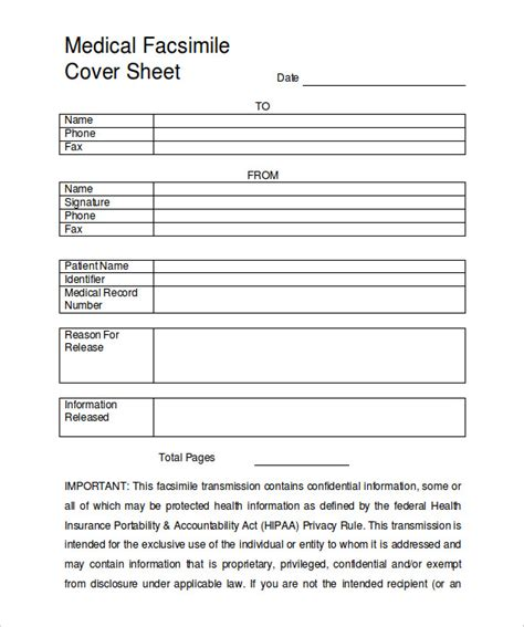 9+ Fax Cover Sheet Templates  Free Sample, Example