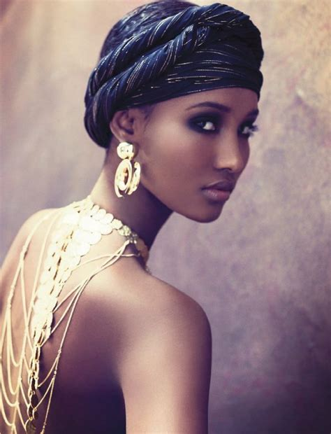 fashion beauty glamour somali model fatima siad