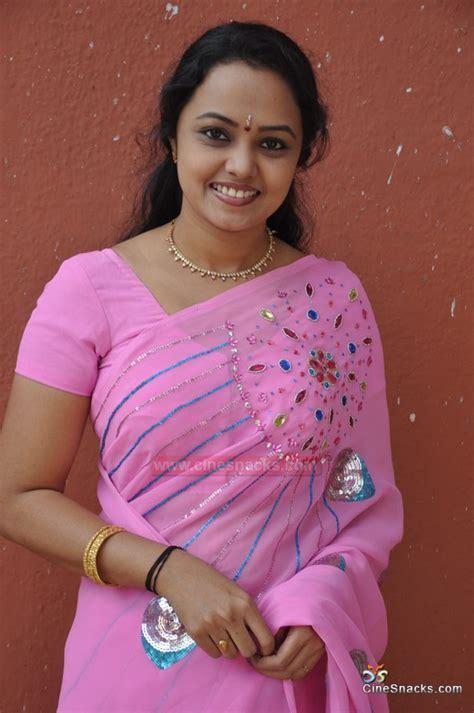 sab hot actress tamil serial actress lavanya hot  saree