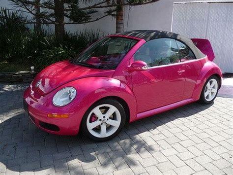pink convertible volkswagen best 25 pink beetle ideas on pinterest pink volkswagen