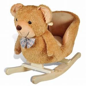 Cheval à Bascule Bebe : jouet bascule pour b b cheval coccinelle elephant teddy lion dinosaure ~ Teatrodelosmanantiales.com Idées de Décoration