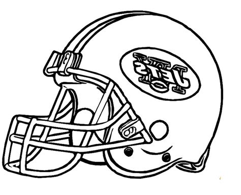 Jets Football Coloring Pages To Print Coloring Page