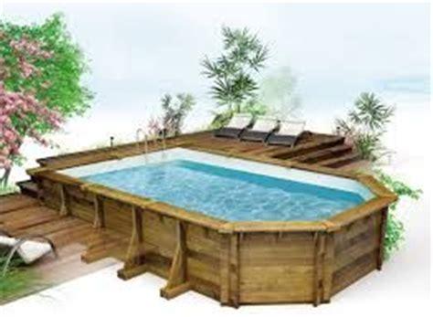 kit piscine bois semi enterree r 233 sultat de recherche d images pour quot piscine hors sol bois semi enterr 233 e quot terrasse